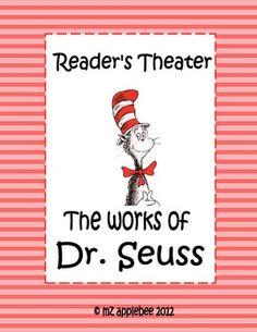 Reader's Theater: Dr. Seuss - mz applebee - TeachersPayTeachers.com
