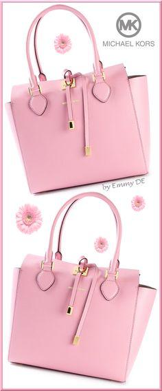 Brilliant Luxury * Michael Kors 'Miranda' Tote in #pink