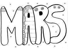 The months in graphics - Cards to announce the beginning of the month in kindergarten Maternelle Grande Section, Alternative Education, Teaching French, Art School, Alphabet, Kindergarten, Bullet Journal, Lettering, Activities