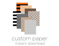Printable Halloween Papers