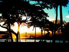 Sunset in Hawaii :)