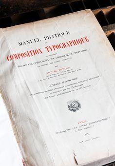 Le Manuel pratique de composition typographique de Victor Breton | ampersandpresslab.fr