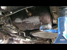 Rusty Oil Pan Repair with J-B Weld on a 2002 Pontiac Grand Prix DIY #autorepair #WorldsStrongestBond #DIY jbweld.com