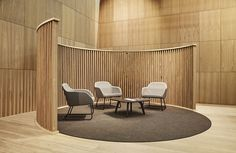 Francesc Rifé Studio : ephemeral » Akaba Orgatec Modern Office Design, Office Interior Design, Office Interiors, Commercial Design, Commercial Interiors, Design Social, Clinic Design, Waiting Area, Space Dividers