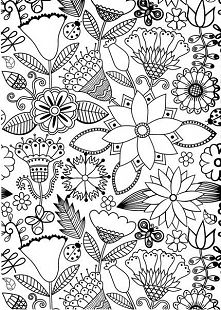 Abstract Doodle Zentangle Coloring pages colouring adult detailed advanced… Coloring Book Pages, Printable Coloring Pages, Coloring Sheets, Doodle Coloring, Kids Coloring, Doodles Zentangles, Zentangle Patterns, Doodle Art, Line Art