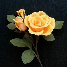 #roses #flowers #crepepaperflowers #handmade