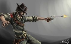 Red dead redemption art | Red Dead Redemption by ~Mihawq on deviantART