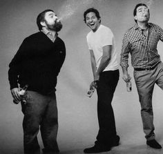 Zach Galifianakis, Bradley Cooper & Ed Helms - this picture makes me laugh Bradley Cooper Hangover, Beautiful Men, Beautiful People, Ed Helms, Zach Galifianakis, Hollywood Celebrities, Man Crush, We The People, Pretty People