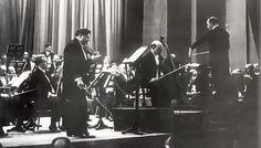 George Enescu și Pablo Casals în concert, 1937