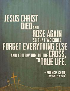 Let's follow Him