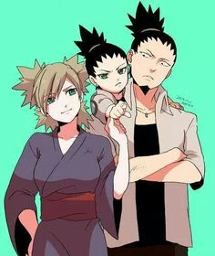 --Shikamaru and Temari--