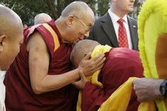 HH with Lama Zopa, I believe.