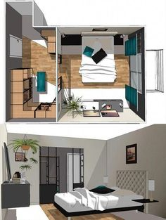 Walk in closet behind bed decor 61 Ideas for 2019 Bedroom Closet Design, Master Bedroom Closet, Master Bedroom Makeover, Closet Designs, Home Bedroom, Bedroom Decor, Bedroom Small, Master Suite, Room Layout Planner