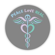 Peace - Above, ahead, all are sated, pivotal Love - Acceptance, neutrality, openness, light, Heal - Undulation, pointed, harmonious