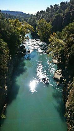 Manavgat köprülü kanyon