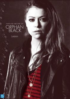 Orphan Black clone Sarah Manning. Probably my favorite clone of the bunch.