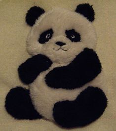 Windflower Embroidery » Panda for the Zoo