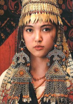 """""""Kyrgyzstan; Ethnic Jewellery of Central Asia"""" Kadyrov (Author), Ian Caytor (Editor), V. Kadyrov (Illustrator) 