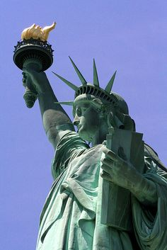 Statue of Liberty-make reservations early to walk to crown