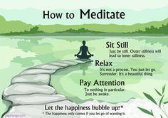 Easiest Meditation Instructions (Ever). ~ Steve Haase