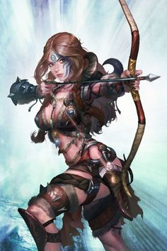 Archer Lady by sun haiyang