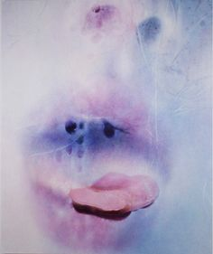Marilyn Minter, Deep Frost, 2016, enamel on metal. COURTESY THE ARTIST AND SALON 94, NEW YORK