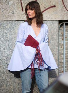 street-style-inverno-jeans-blusa-manga-sino