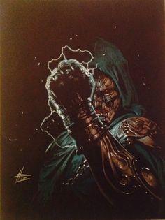 Dr. Doom by Gabriele Dell'Otto