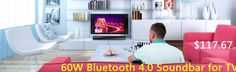 Bluetooth Soundbar for TV 4.0 Bluetooth Speaker Stereo Sound Bar Subwoofer for Computer PC Phone Home Theater Loudspeakers