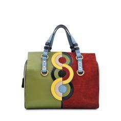 Dsquared2 Quebec Sonia Delauney bowling bag