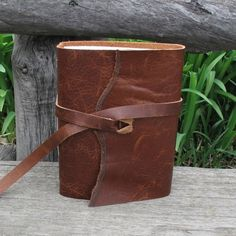 I Dream Things that Never Were Handmade leather by MoonAndHare, $49.95
