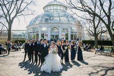 Lea & Greg usher in the spring season with a beautiful wedding at the iconic New York Botanical Garden. Safe to say the day was in full bloom - and then some! Photography by Unveiled-Weddings Ny Botanical Garden, Nyc Wedding Photographer, New York Wedding, Photography And Videography, Garden Wedding, Bloom, Weddings, Bride, Spring