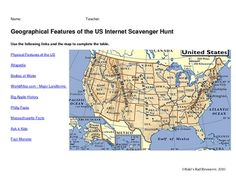 An internet scavenger hunt allows students to use educational websites in order to explore their standards. An internet scavenger hunt allows stude...