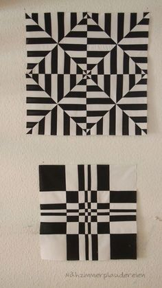 Excellent Absolutely Free Quilt Sewing patchwork Style Due to this stitch along with the particular Excess fat One fourth retail outlet My business is prod Op Art, Quilt Block Patterns, Quilt Blocks, Doodle Patterns, Crochet Patterns, Optical Illusion Quilts, Optical Illusions, Modern Quilting Designs, Black And White Quilts