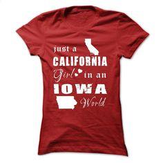 CALIFORNIA GIRLS IN IOWA T Shirt, Hoodie, Sweatshirts - hoodie women #tee #Tshirt