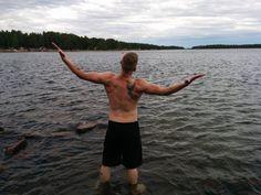Enjoying the summer. +10c water.  #theseaaintgotshitonme #recovery #healtylifestyle #finnishboy #testokääpiö #pyhtää #pyttis #summerhouse #summerfun #fitnesslifestyle #veganlifestyle #nofilter #coldAF #bjjlifestyle