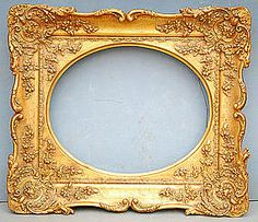 almost anything would shine in this gilded frame