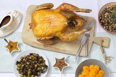 10 zalige kerst hoofdgerechten - Francesca Kookt Good Food, Turkey, Meat, Chicken, Christmas, Wraps, Drinks, Christmas Meals, Side Dishes