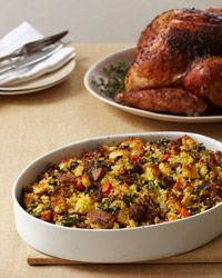 Corn Bread Stuffing with Country Sausage. Use gluten free cornbread mix, sausage without wheat fillers, and gluten free chicken stock. Thanksgiving Stuffing, Thanksgiving Side Dishes, Thanksgiving Recipes, Holiday Recipes, Christmas Recipes, Christmas Dinners, Holiday Dinner, Holiday Treats, Christmas Christmas