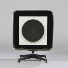 A Stephens Tru-Sonic speaker, designed in 1957 by Charles and Ray #Eames