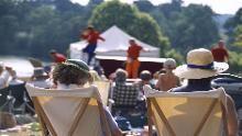 National Trust - Top spots for outdoor theatre, music and film Outdoor Theater, National Trust, Ronald Mcdonald, Theatre, Activities For Kids, Mario, Entertaining, Film, Celebrities