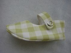 Baby Shoe Sewing Pattern  Red Mary Jane by LenasShoePatterns, $4.50