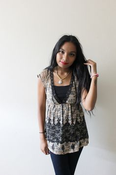 Styling Lace for the Office - LINDA TENCHI TRAN