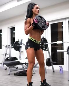 ‼️Quick PLATE ONLY leg workout . Always in a rush? I knowwww babes! Good Arm Workouts, Best Cardio Workout, Biceps Workout, Love Fitness, Fitness Workout For Women, Crossfit, Anita Herbert, Athlete Motivation, Muscle Girls
