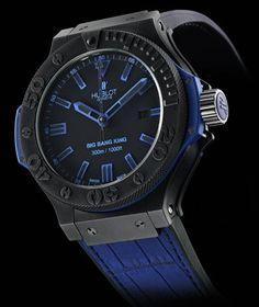 Hublot Big Bang King All Black Blue Watch