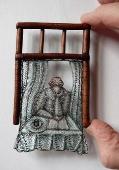 Hungarian artist Agnes Herczeg blends incredibly intricate lace art with knotty wooden pieces of wood Arte Linear, Lace Weave, Lace Art, Creative Textiles, Textile Fiber Art, Point Lace, Tatting Lace, Arte Popular, Weaving Art