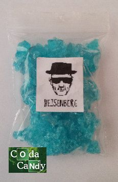 Breaking Bad blue meth candy 99.1 pure series 54321 by CodaCandy, £3.99. AWESOME :)