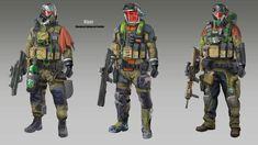 ArtStation - Soldiers Concepts, Yong Bin Tan