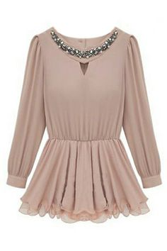 Flouncing Pink Blouse