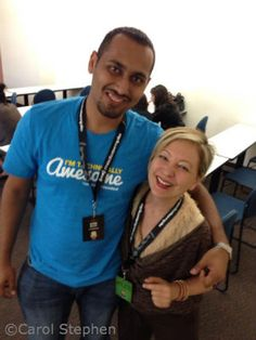 WordCamp OC 2013: 10 Awesome Things. P.S. Who's the chick with Syed Balkhi? | Orange County #WordCamp | My Blog